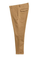 Cropped suit trousers - Dark beige - Men | H&M CN 3