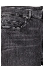 Skinny Regular Jeans - Black washed out -  | H&M CN 4