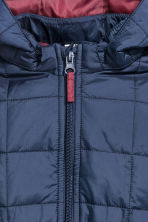 Quilted jacket - Dark blue - Kids | H&M CN 2