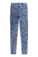 Treggings - Denim blue/Feathers - Kids | H&M CN 3