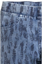 Treggings - Denim blue/Feathers - Kids | H&M CN 4