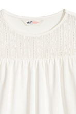 Top with lace - Natural white - Kids | H&M CN 3