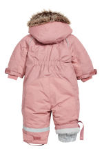 All-in-one suit with a hood - Old rose - Kids | H&M CN 2