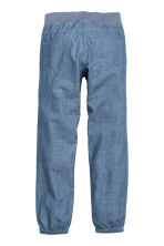 Denim joggers - Denim blue - Kids | H&M CN 3