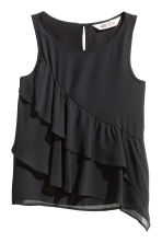 Tiered top - Black - Kids | H&M CN 2