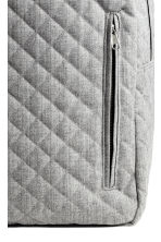 Quilted backpack - Grey marl - Men | H&M CN 3