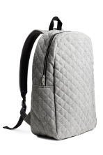 Quilted backpack - Grey marl - Men | H&M CN 2