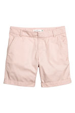Short chino - Rose poudré - FEMME | H&M FR 1