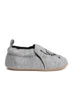 Terry-lined slippers - Grey - Kids | H&M CN 2