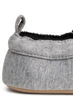 Terry-lined slippers - Grey - Kids | H&M CN 3