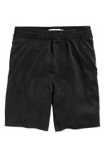 Lyocell shorts - Black - Men | H&M CN 1