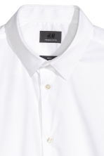 Stretch shirt Slim fit - White - Men | H&M 5