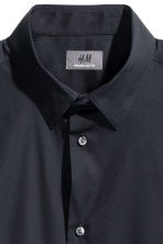 Stretch shirt Slim fit - Dark blue - Men | H&M CN 3