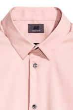 Stretch shirt Slim fit - Light pink - Men | H&M CN 3