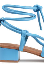Sandals - Blue - Ladies | H&M CN 4