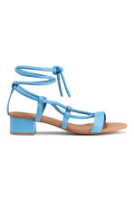 Sandals - Blue - Ladies | H&M CN 1