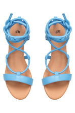 Sandals - Blue - Ladies | H&M CN 2