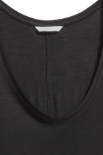 Vest top in jersey - Black - Ladies | H&M CN 2