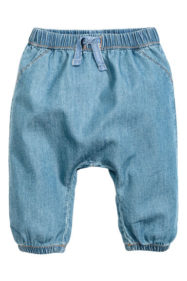 Pantaloni pull-on - Blu denim - BAMBINO | H&M IT 1