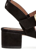 Suede sandals - Black - Ladies | H&M GB 5