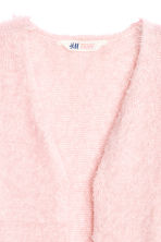 Fluffy cardigan - Light pink - Kids | H&M CN 3