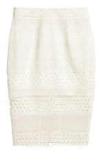 Pencil skirt - White - Ladies | H&M CN 2