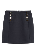 Short skirt - Dark blue - Ladies | H&M GB 2
