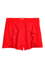 Shorts con volant - Rosso - DONNA | H&M IT 2