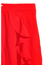 Shorts con volant - Rosso - DONNA | H&M IT 3
