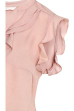 MAMA Frilled blouse - Powder pink - Ladies | H&M CN 3