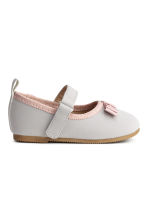 Ballet pumps - Light grey - Kids | H&M CN 2
