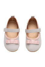 Ballet pumps - Light grey - Kids | H&M CN 1