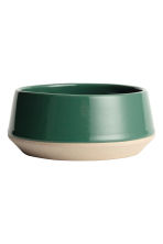 Small stoneware bowl - Dark green - Home All | H&M CN 2