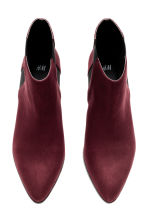 Ankle boots - Burgundy - Ladies | H&M CN 2