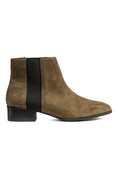 Botines - Caqui oscuro - MUJER | H&M ES 1