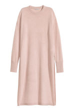 Long cashmere jumper - Powder pink marl - Ladies | H&M CN 2