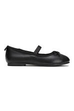 Ballet pumps with strap - Black - Kids | H&M CA 2