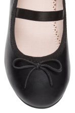 Ballet pumps with strap - Black - Kids | H&M CA 3