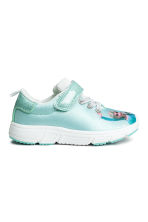 Trainers with a print motif - Light Turquoise/Frozen - Kids | H&M CN 2