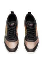 Mesh trainers - Black/Metallic - Kids | H&M CN 2