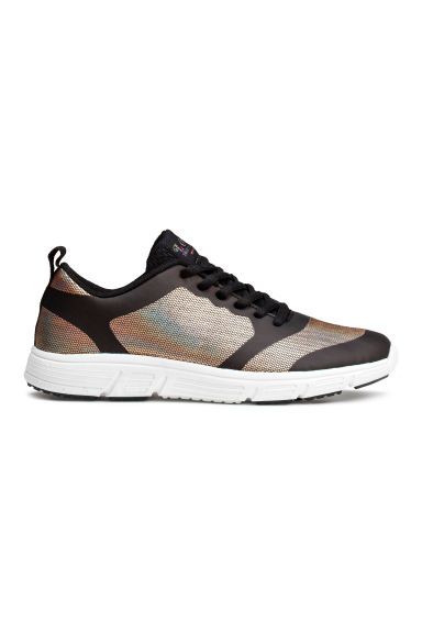 Mesh trainers - Black/Metallic - Kids | H&M CN 1