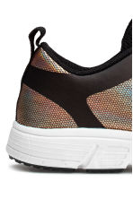 Mesh trainers - Black/Metallic - Kids | H&M CN 4