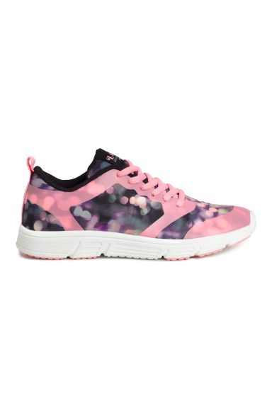 Mesh trainers - Black/Pink - Kids | H&M CN 1