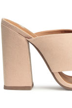 Mules - Light beige - Ladies | H&M CN 5