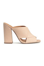 Mules - Light beige - Ladies | H&M CN 2
