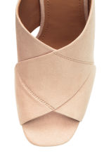 Mules - Light beige - Ladies | H&M CN 4