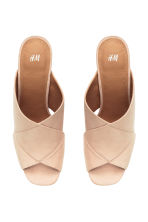Mules - Light beige - Ladies | H&M CN 3