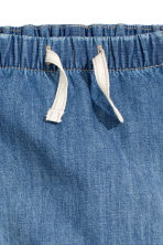Lined pull-on trousers - Denim blue - Kids | H&M CN 2