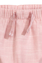 Lined pull-on trousers - Dusky pink - Kids | H&M CN 2