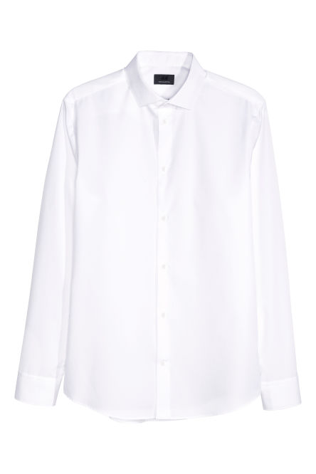 Shirt in premium cotton